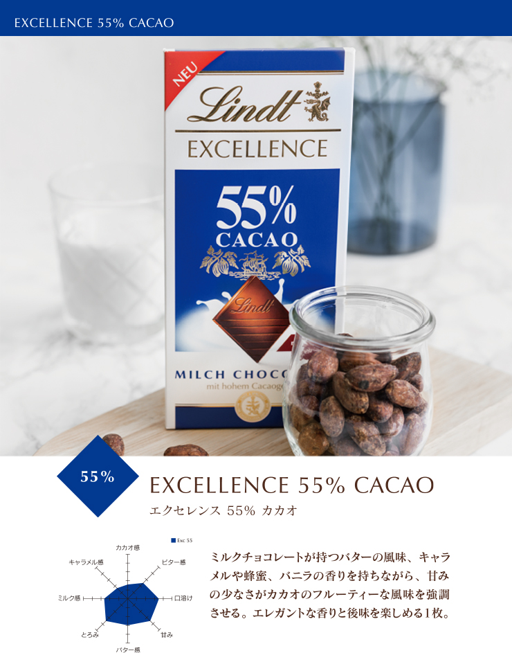 エクセレンス 55%カカオ