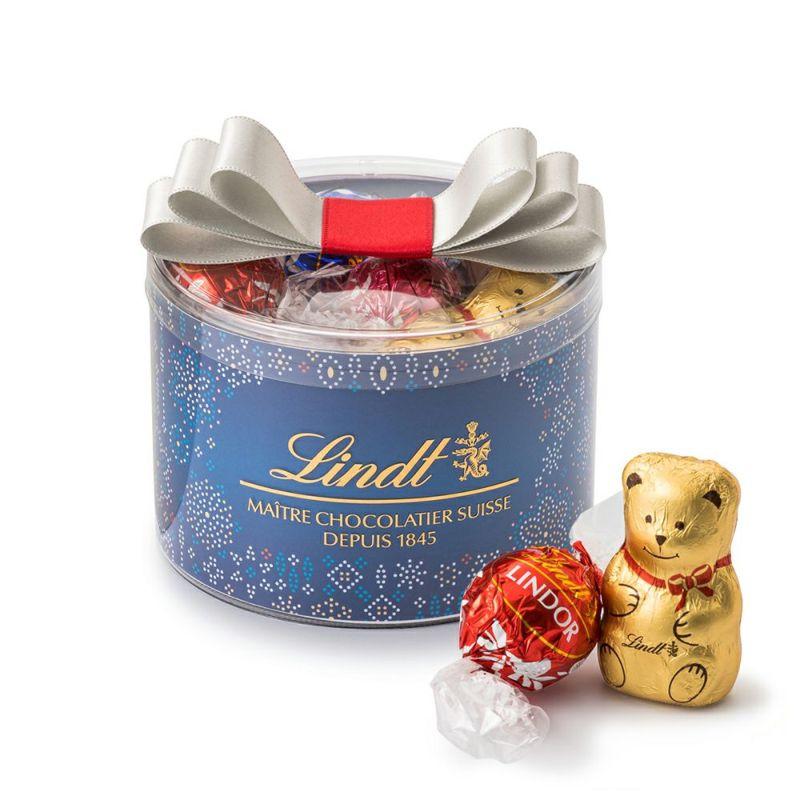 リンツチョコレート(Lindt)クリスマスリンドールリボンギフトボックス16個入り
