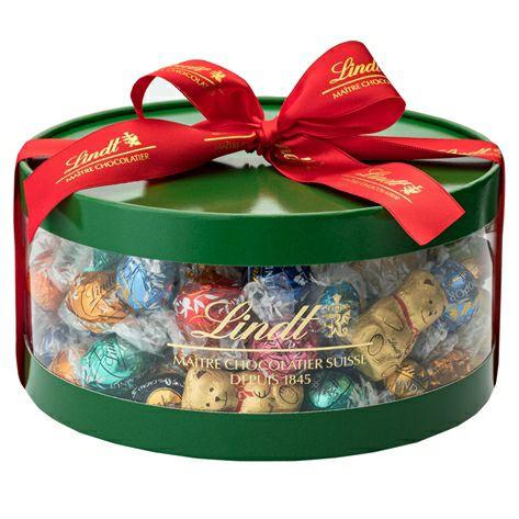 リンツチョコレート(Lindt)クリスマスリンドールギフトボックス100個入り