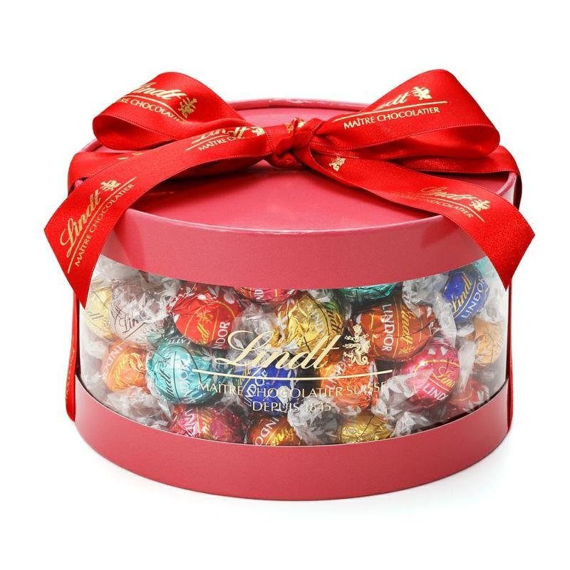 リンツチョコレート(Lindt)クリスマスリンドールギフトボックス50個入り